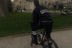 Klara-Fahrradpolizei