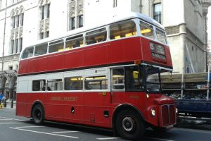 London Bus – typisch britischer Bus in London